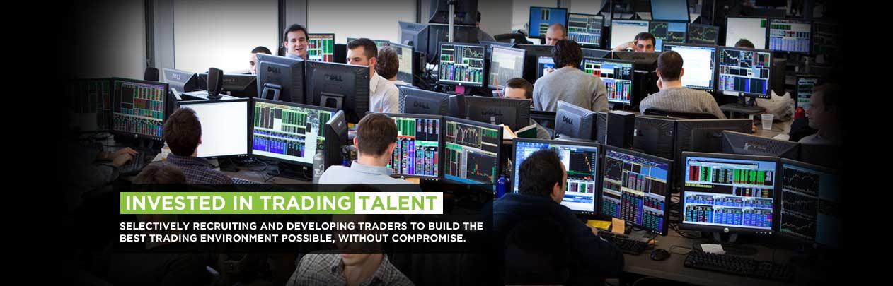 Proprietary trading broker dealer